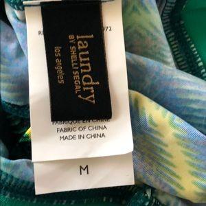 Laundry By Shelli Segal Swim - Laundry by Shelli Segal Geometric Bikini Top M New